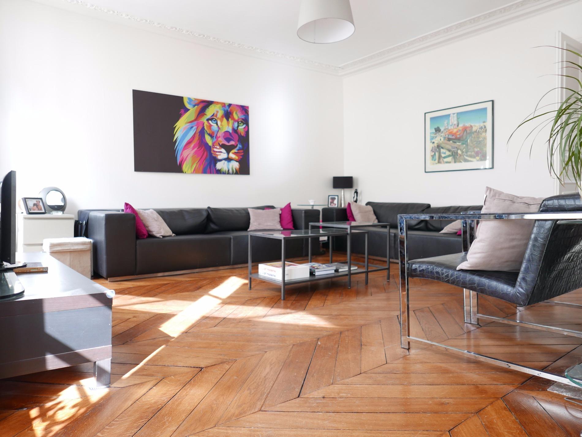 Crespin immobilier batignolles paris 17 me les ternes for Appartement meuble paris 17eme